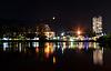 Photo 300 DPI: view of city at night
