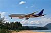 ID 3339129 | Passagierflugzeug über Strand | Foto mit hoher Auflösung | CLIPARTO