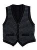 Black stylish vest   Stock Foto
