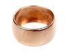 Old gold wedding ring | Stock Foto