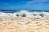 Waves on sea beach | Stock Foto