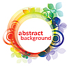 Vector clipart: abstract circle