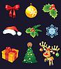 Vector clipart: Christmas set
