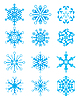 Snowflakes | Stock Vector Graphics