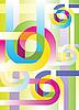 Векторный клипарт: Красочный фон