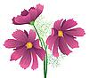 Векторный клипарт: Цветок