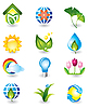 Set of nature design elements | Stock Vector Graphics