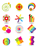 Vector clipart: Set of simple elements for design
