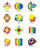 Vector clipart: Set of elements for design