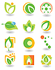 Vector clipart: Set of environment icons