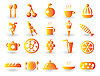 Vector clipart: Food Icon Set