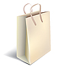 Vector clipart: Paper shopping bag
