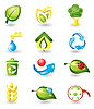 Vektor Cliparts: Natur-Icons