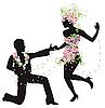 Векторный клипарт: Танец