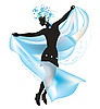 Vector clipart: Dance
