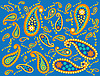Paisley background  | Stock Vector Graphics