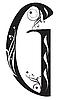 Vector clipart: Decorative letter G