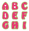 Alphabet with hearts | Stock Vector Graphics