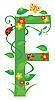 Векторный клипарт: Декоративная цветочная буквица F