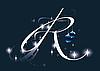 Christmas letter R