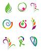 Set of design elements - nature