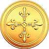gold coin French ecu reverse