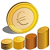 Money euro | Stock Vector Graphics
