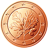 Vector clipart: Money euro cent germany