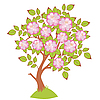 Vector clipart: cherry blossoms