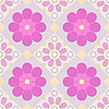 Vector clipart: pastel seamless floral pattern