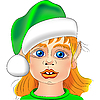 Vector clipart: Christmas elf