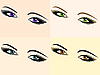 Vector clipart: set of eyes