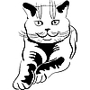 Vector clipart: cat