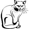 Кот | Векторный клипарт