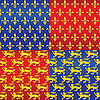 heraldic seamless backgrounds