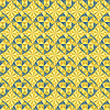 Vector clipart: seamless yellow geometric pattern