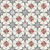 Seamless pastel geometric pattern | Stock Vector Graphics
