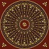 Circle lace pattern | Stock Illustration