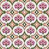 Seamless pink floral pattern | Stock Vector Graphics