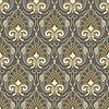 Vektor Cliparts: nahtloses goldenes Muster