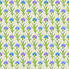 Seamless floral pattern with cornflowers | Stock Vector Graphics