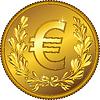 Деньги золотые монеты евро