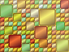 Векторный клипарт: абстрактный фон цветных квадратов