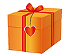 Vector clipart: gift for loved one