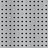Векторный клипарт: Металл бесшовного фона с перфорацией