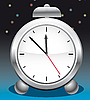 Vector clipart: Alarm clock