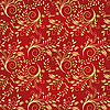 Vector clipart: Seamless background of red and gold
