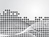 Векторный клипарт: Абстрактный фон в серых тонах