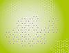 Векторный клипарт: Зеленом фоне