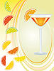 Vector clipart: cocktail